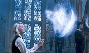 EVANNA LYNCH as Luna Lovegood in Warner Bros. Pictures' fantasy