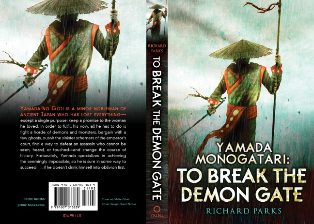 Book Review To Break The Demon Gate Richard Parks Ghouls